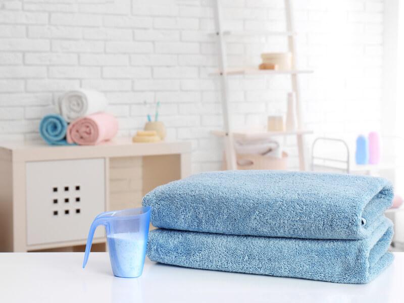 適量の洗濯洗剤を入れるコツ