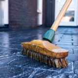 玄関 掃除 ブラシ