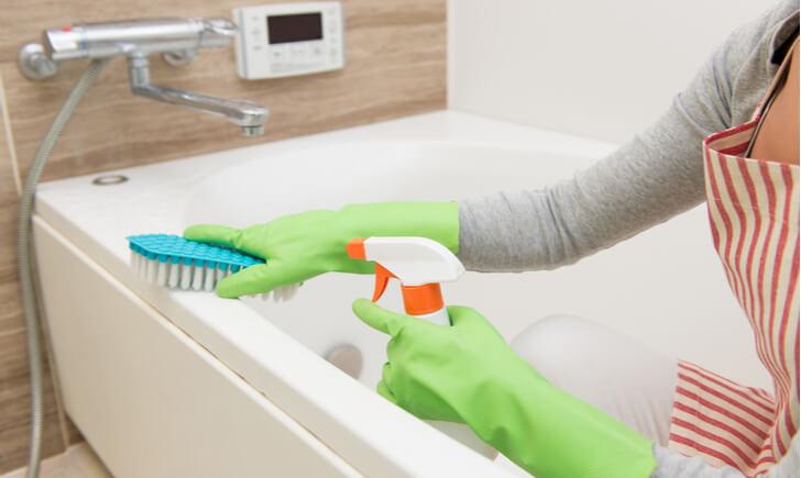 便利なグッズを選んでお風呂掃除を快適に!