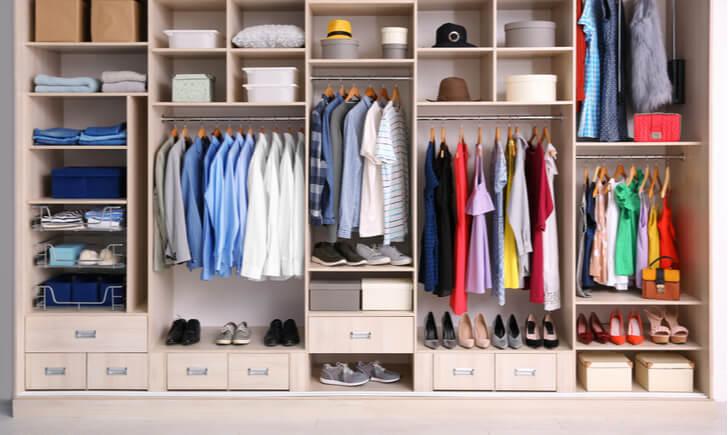 衣類別の収納方法