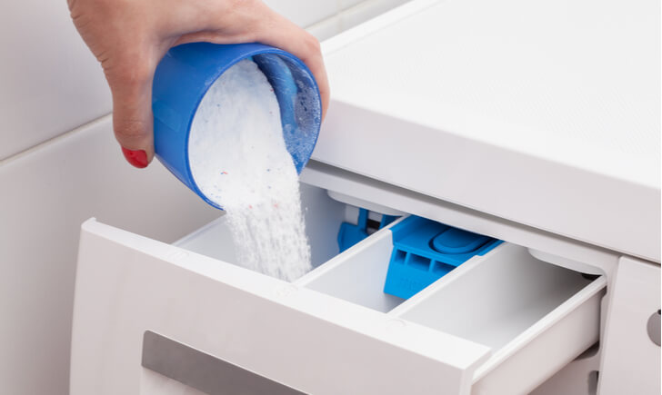 洗剤の使い方