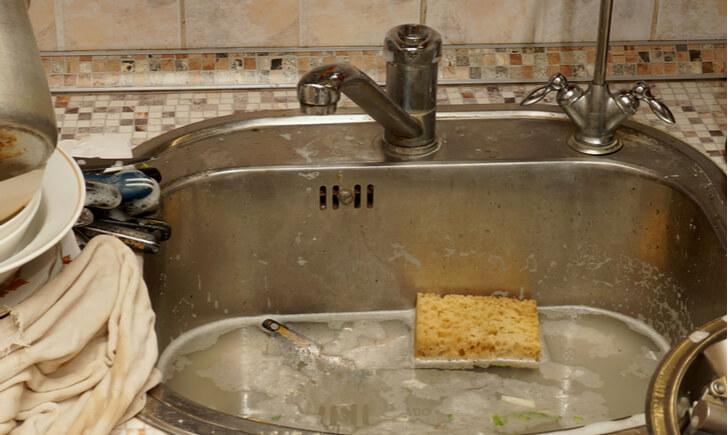キッチンのシンクにつく汚れ