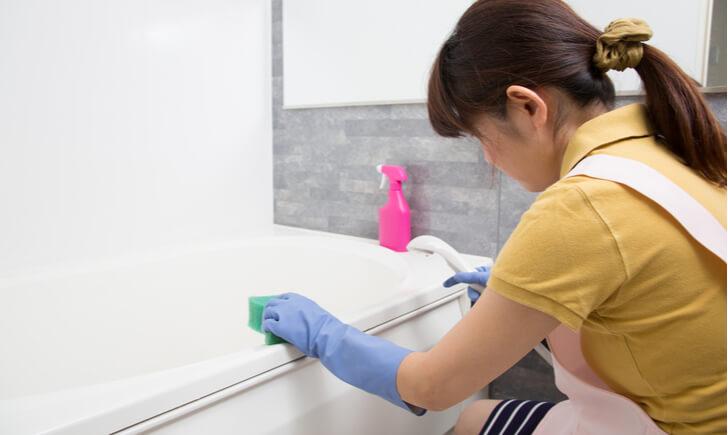 お風呂掃除でのクエン酸活用法