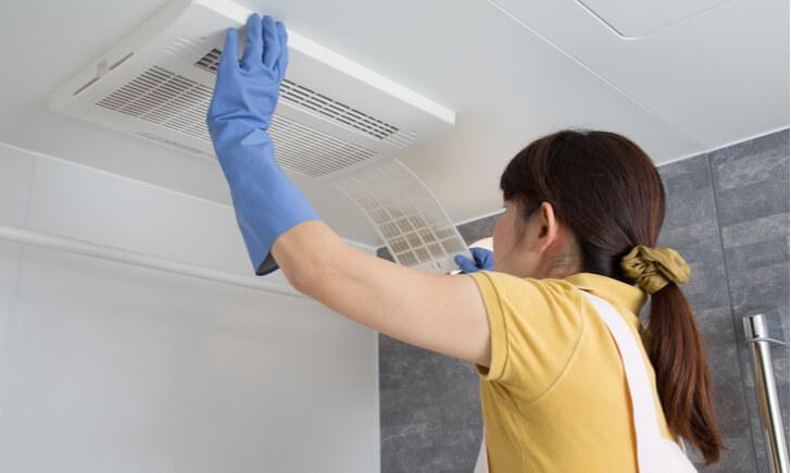 換気扇フィルター掃除で空気もキレイにしよう