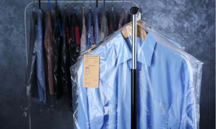 衣類別のクリーニング