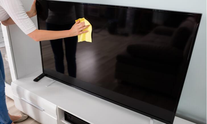 テレビ掃除でやってはいけないこと