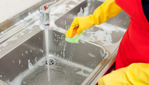 キッチンのシンクをキレイに掃除する方法とは?おすすめの洗剤6選もチェック