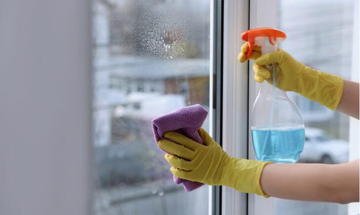窓掃除は月1回の頻度がおすすめ