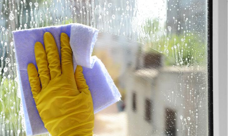 窓掃除の方法と手順