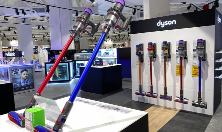 『ダイソン』の掃除機の特徴
