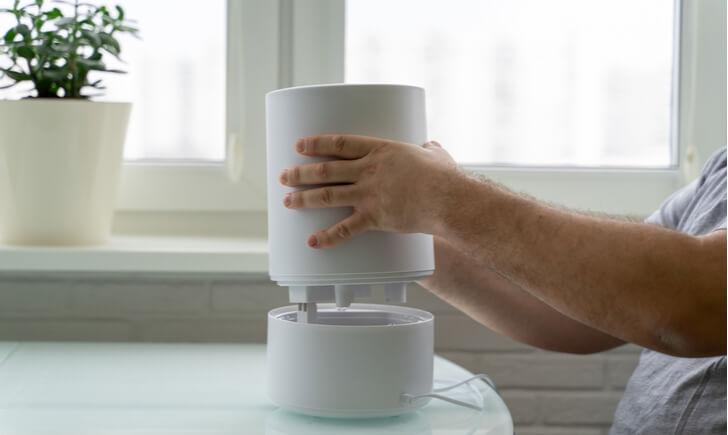 日々の健康のためにも加湿器の掃除を定期的に行おう