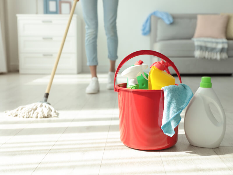 掃除用バケツの選び方