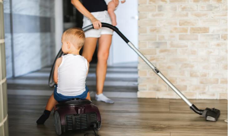 ママと赤ちゃんに最適な掃除機を見つけよう!