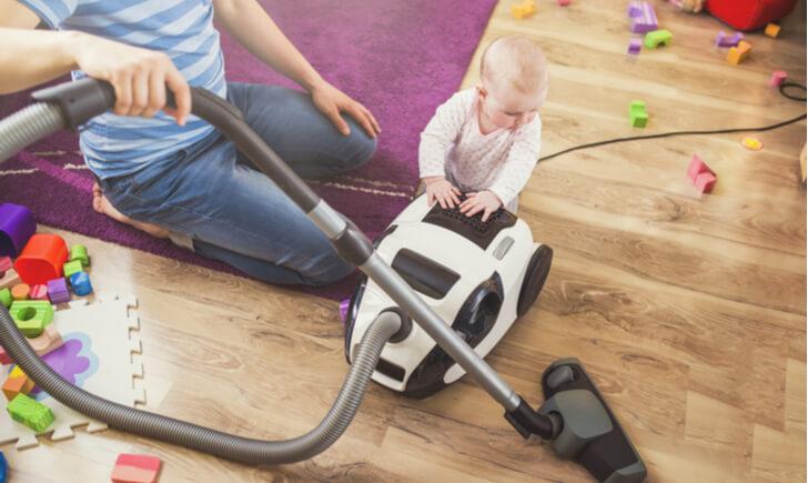 赤ちゃんがいる子育て家庭におすすめの掃除機12選